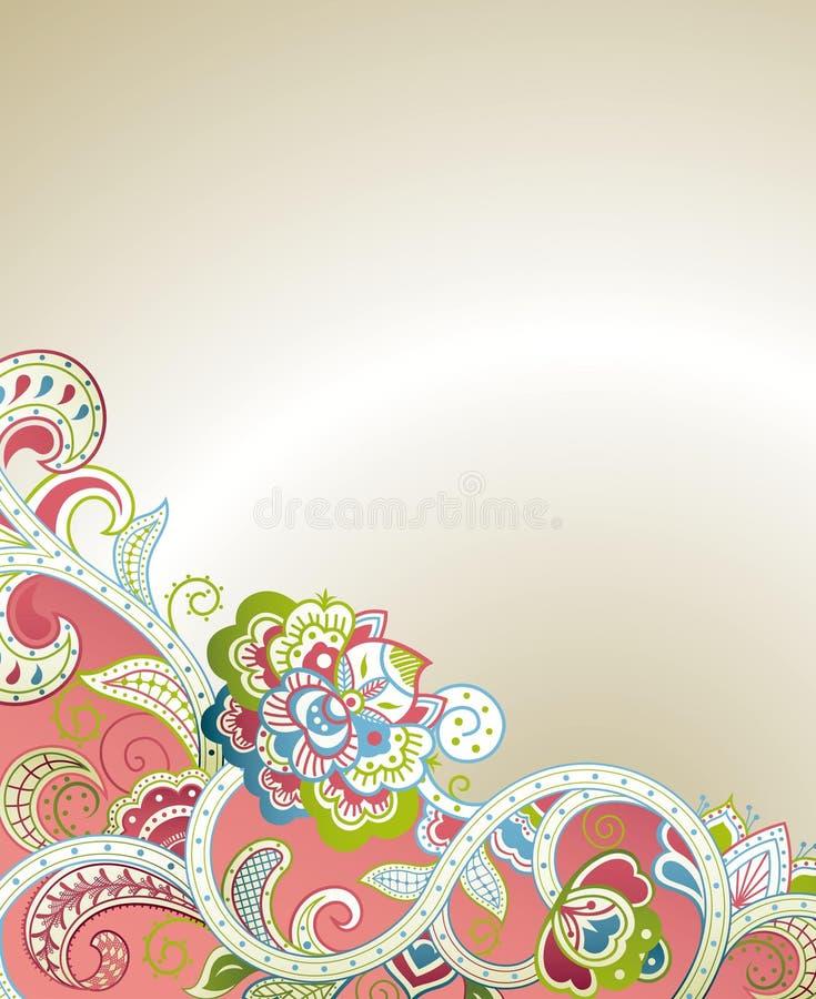 Download Abstraktes Blumen stock abbildung. Illustration von rolle - 26353479
