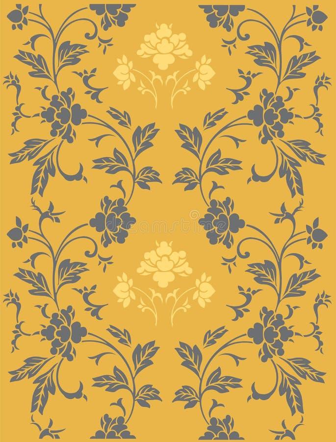Abstraktes Blumenmuster vektor abbildung