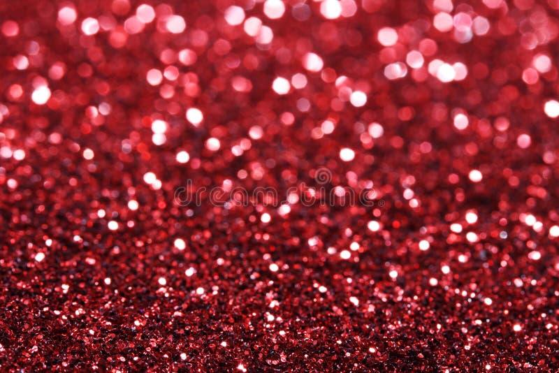 Abstraktes bokeh - vollkommener Weihnachtshintergrund lizenzfreies stockbild