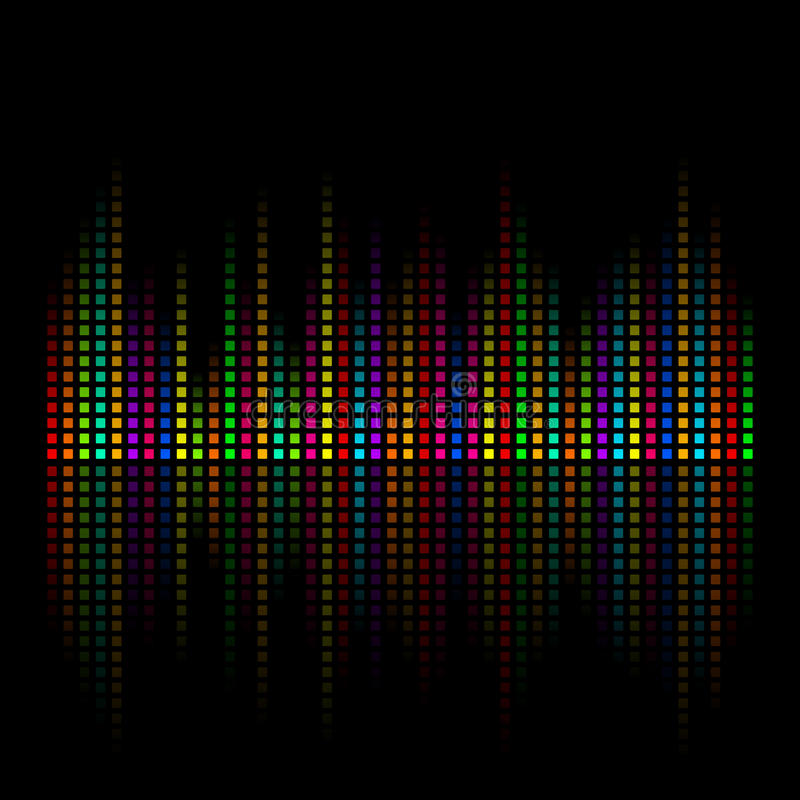 Abstraktes colour2 lizenzfreie abbildung