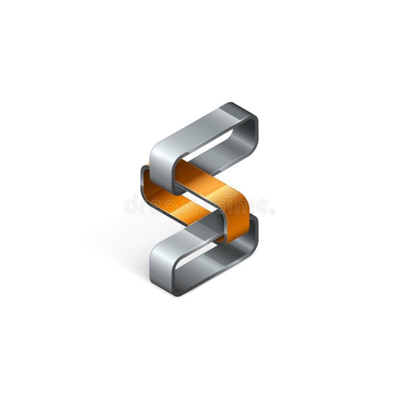 Download Abstraktes Design Des Logos 3D Stock Abbildung - Illustration: 106399867