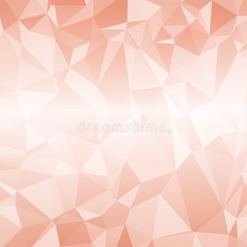 Abstraktes Dreieck-geometrischer Hintergrund, Vektor-Illustration EPS10 vektor abbildung
