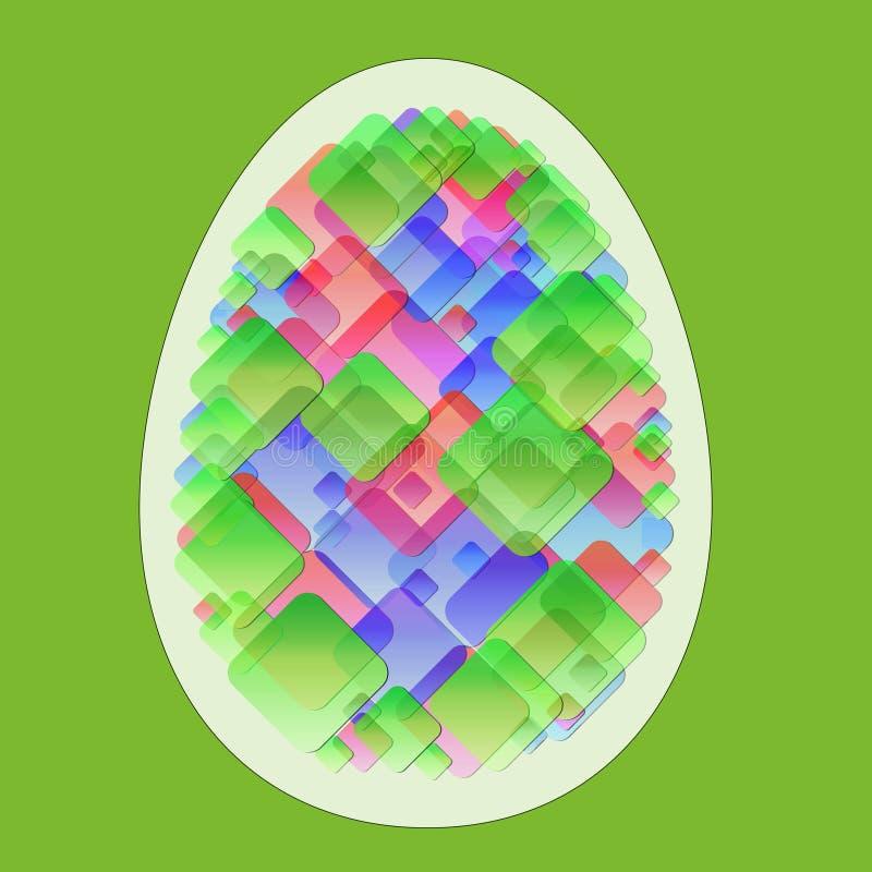 Abstraktes Ei vektor abbildung