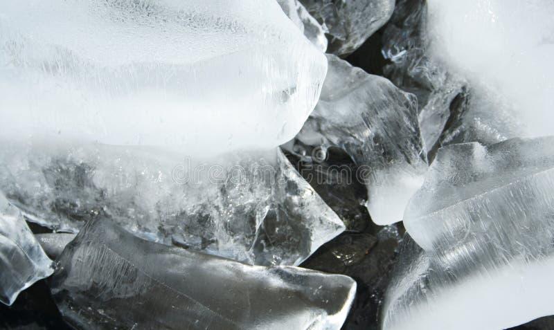 Abstraktes Eismuster lizenzfreie stockbilder