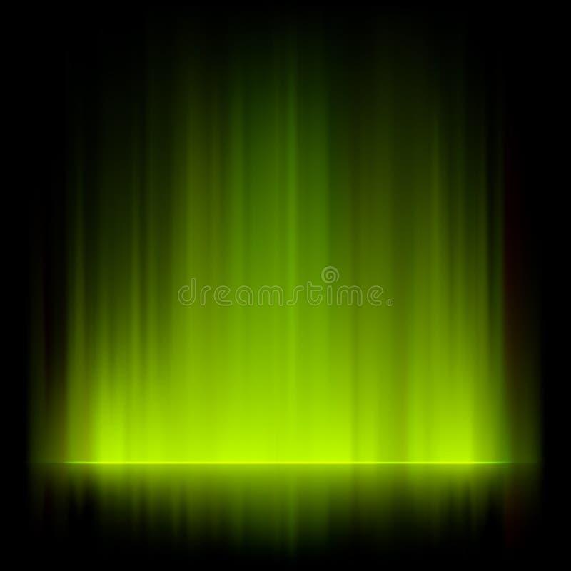 Abstraktes Feuer beleuchtet vektorhintergrund. ENV 8 stock abbildung