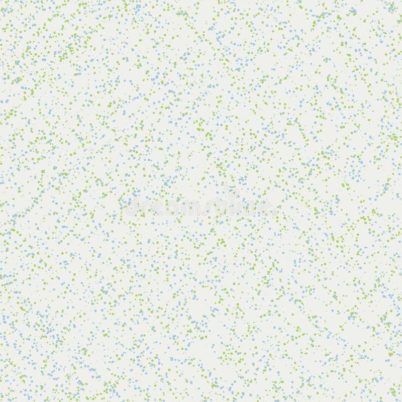Abstraktes Frühlingsmodemuster, Jahrgewebe lizenzfreie abbildung