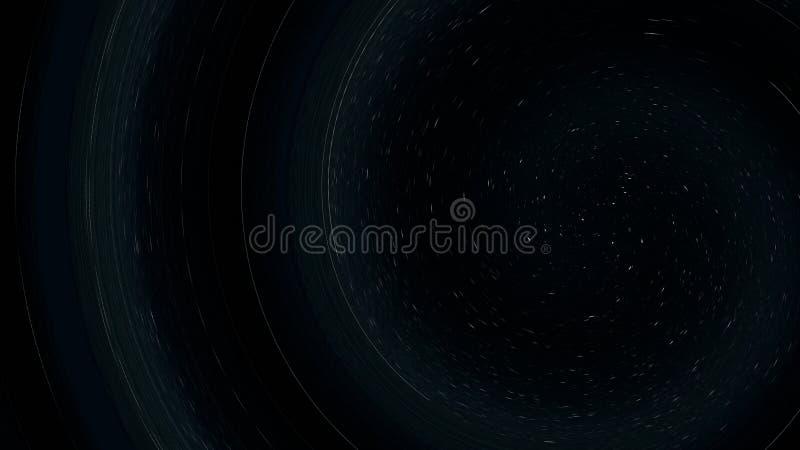 Abstraktes Funnel-Muster wirl, spiralförmig, mehrfarbig als Hintergrund lizenzfreie abbildung