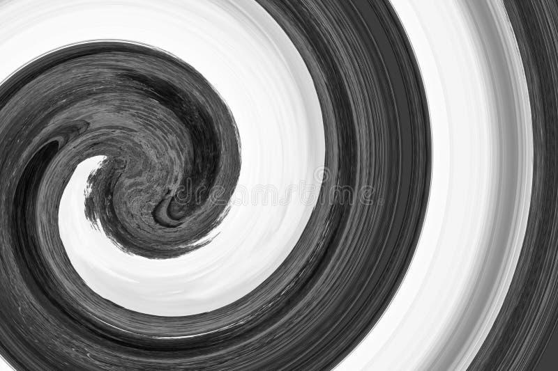 Abstraktes Funnel-Muster wirl, spiralförmig, mehrfarbig als Hintergrund lizenzfreie stockbilder