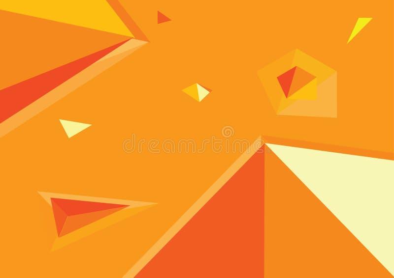 Abstraktes geometrisches lizenzfreie stockfotografie