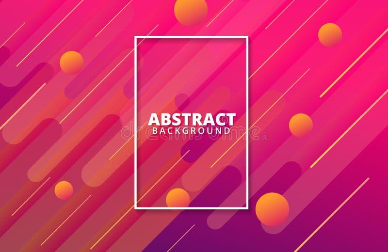 Abstraktes geometrisches Dynamische Formzusammensetzung vektor abbildung