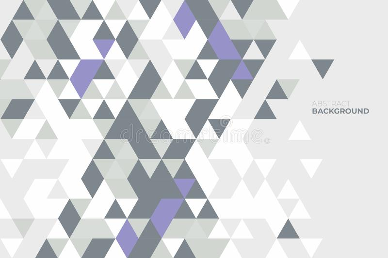 Abstraktes geometrisches Hintergrund von geometrischen Formen Buntes Mosaikmuster Retro- Dreieckhintergrund vektor abbildung