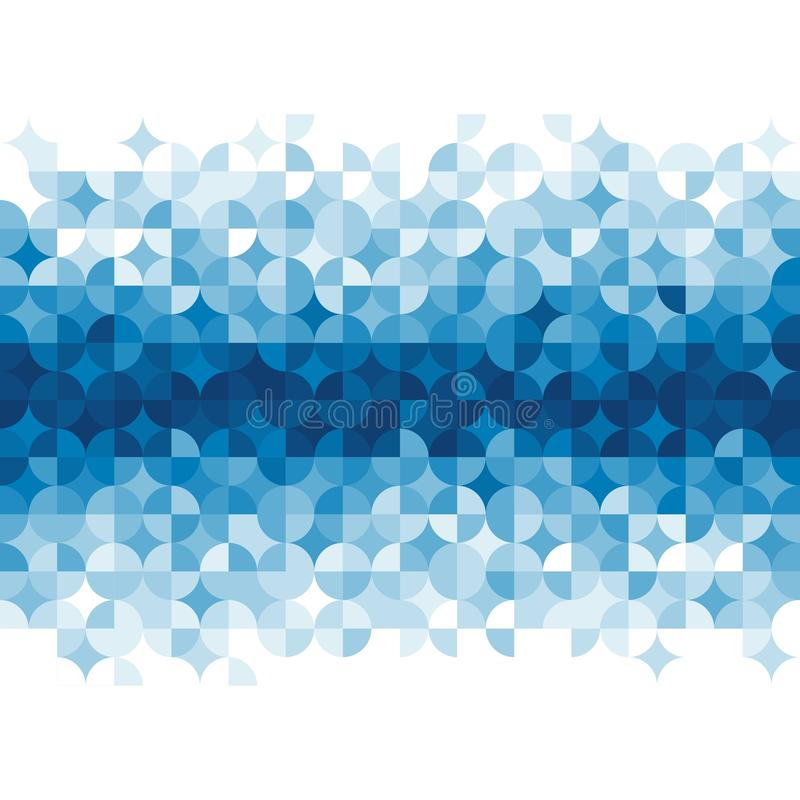 Abstraktes geometrisches Muster. lizenzfreie abbildung