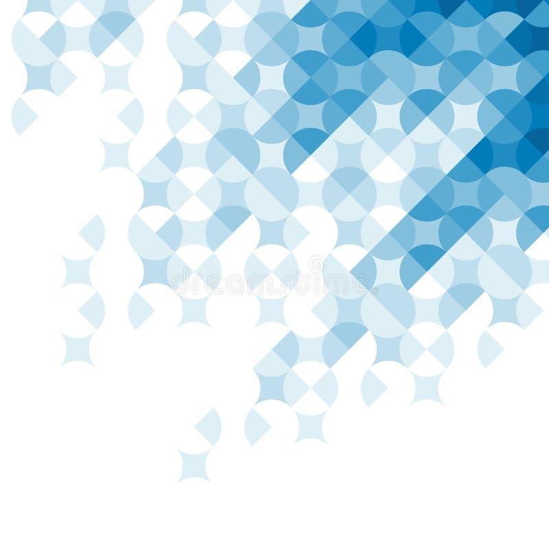Abstraktes geometrisches Muster. stock abbildung