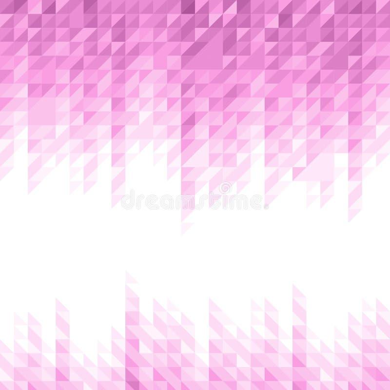 Abstraktes geometrisches Muster stock abbildung