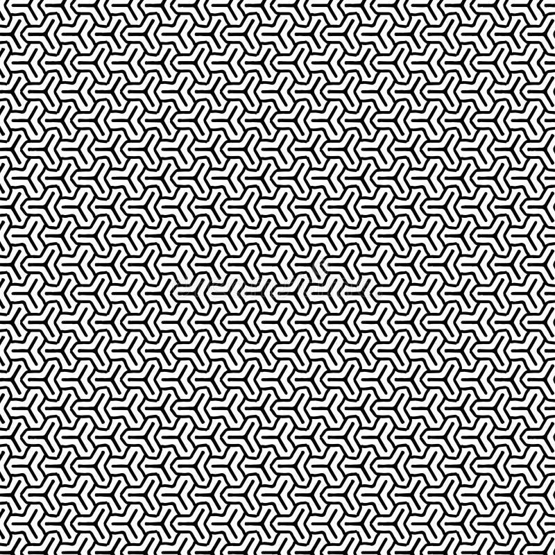 Download Abstraktes Geometrisches Muster Stock Abbildung - Illustration von fliese, swatch: 96927581