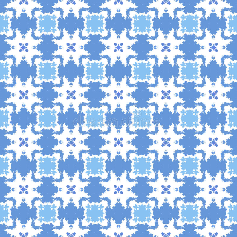 Abstraktes geometrisches nahtloses Muster stockbild