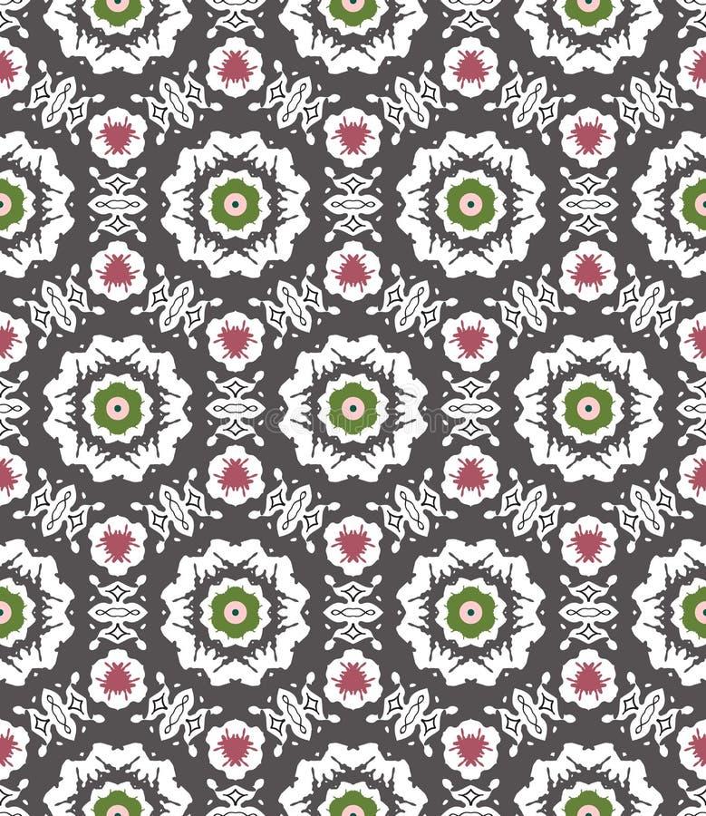 Abstraktes geometrisches nahtloses Muster vektor abbildung