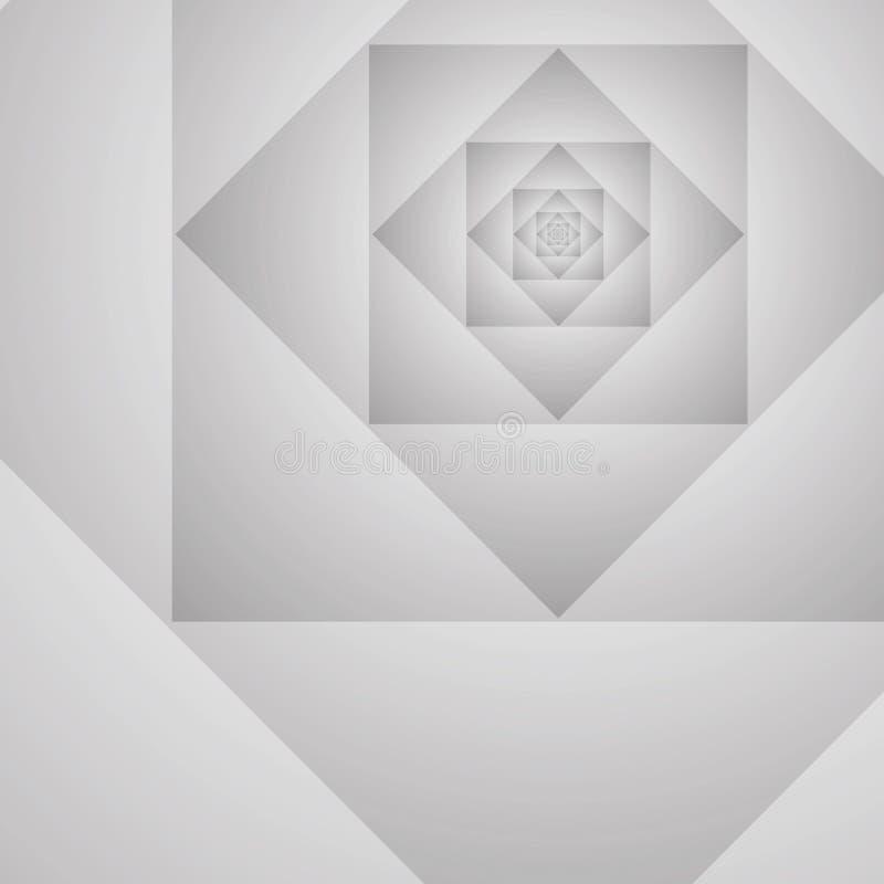 Abstraktes Geometrisches Prototypvektor-Grau Backgroun Stockfotos