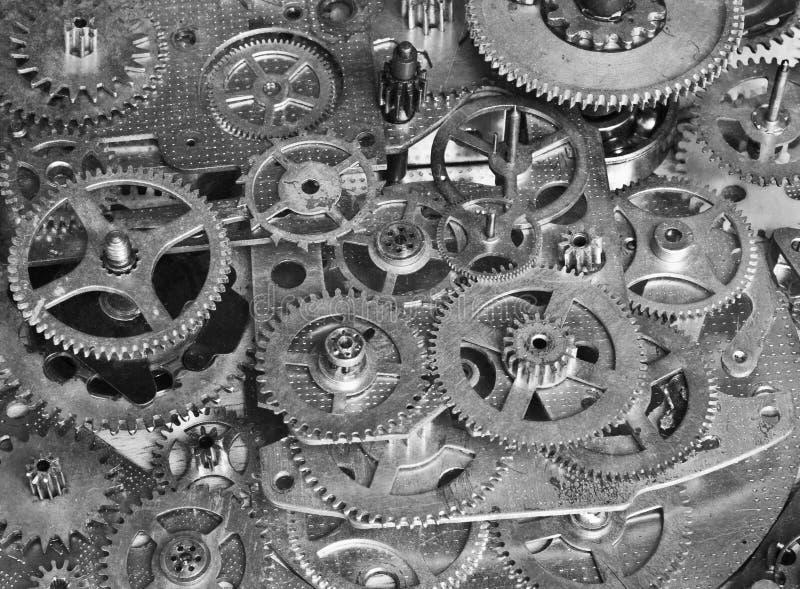 Abstraktes Gerät Stilisierte Collage eines mechanischen Gerätes lizenzfreie stockfotos