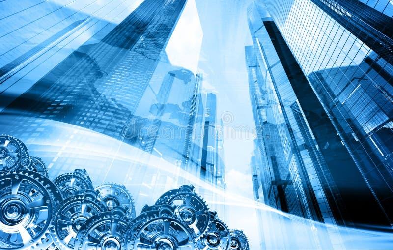Abstraktes Geschäftskonzept stock abbildung