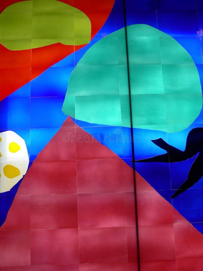 Abstraktes Glas stockfoto