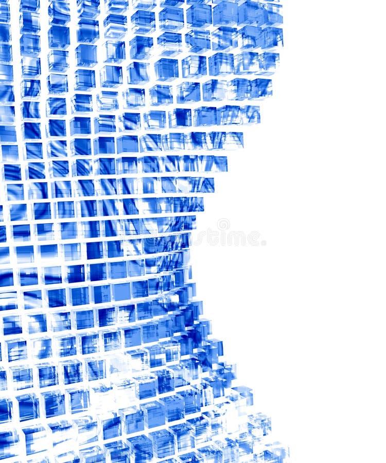 Abstraktes Glas stock abbildung