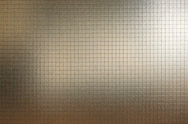Abstraktes Glas mit Drahtgitterbeschaffenheit lizenzfreie stockfotografie