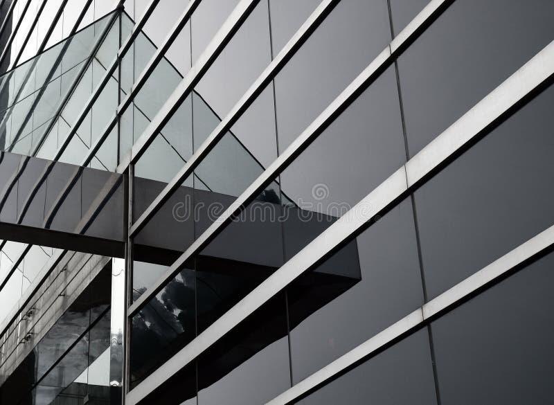 Abstraktes Glasgeb?ude stockfoto