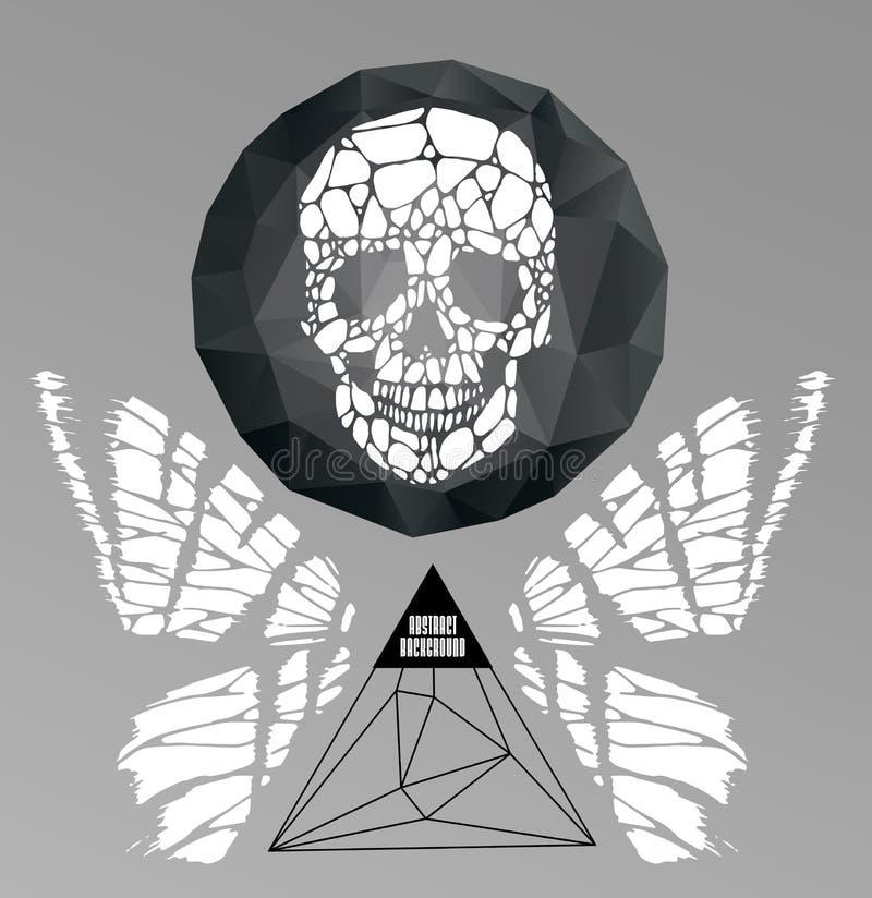 Abstraktes gotisches vektor abbildung