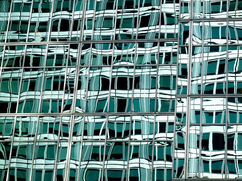 Abstraktes grünes Glas lizenzfreie stockfotografie