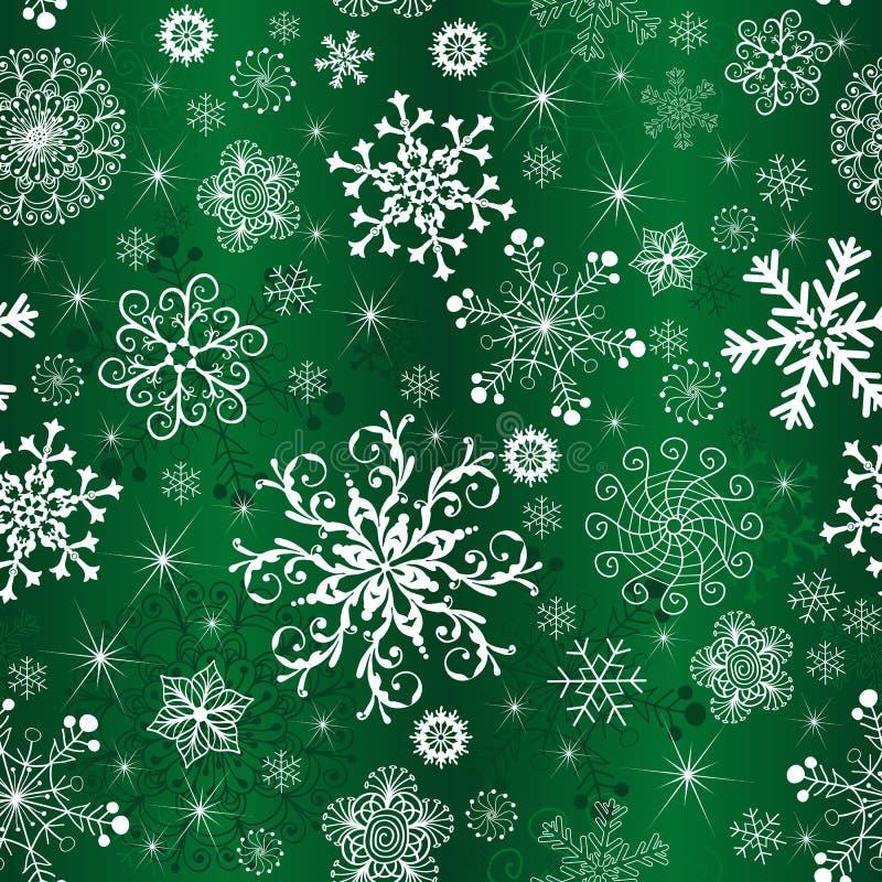 Abstraktes grünes Steigung Weihnachtsmuster lizenzfreie abbildung