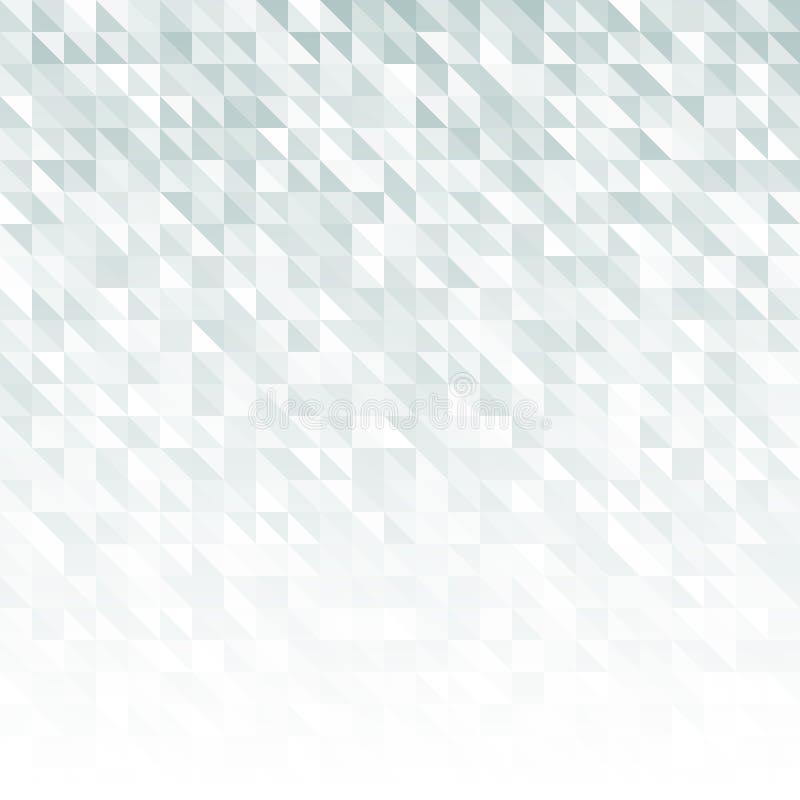 Abstraktes Grey Geometric Technology Background vektor abbildung