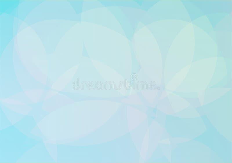 Abstraktes hellblaues Hintergrundmuster stock abbildung