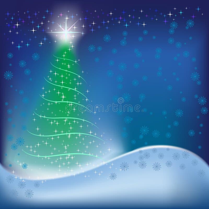 Abstraktes Hintergrund-Weihnachten stock abbildung