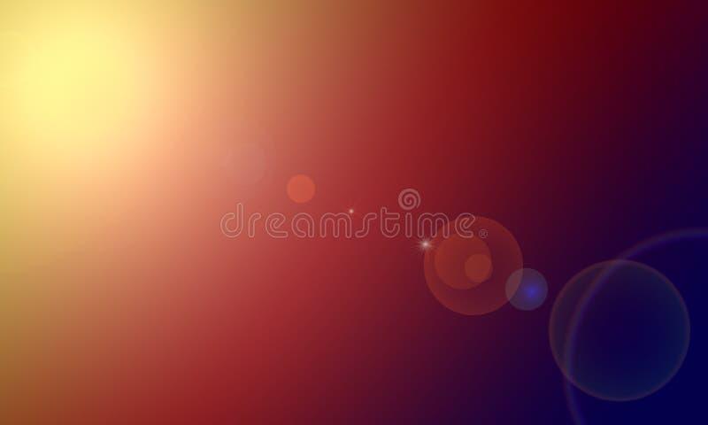 Abstraktes Hintergrundaufflackern starburst stockfoto