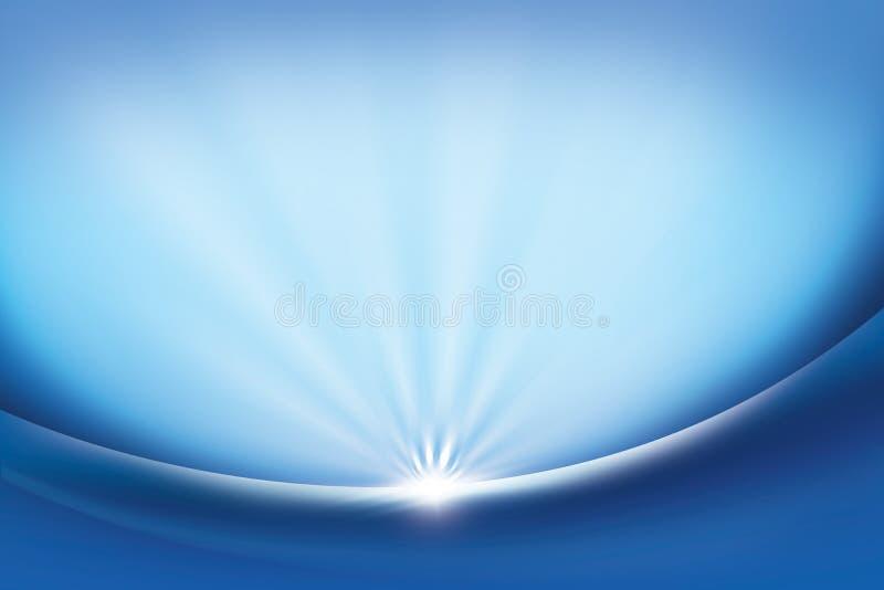 Abstraktes Hintergrundblau stock abbildung