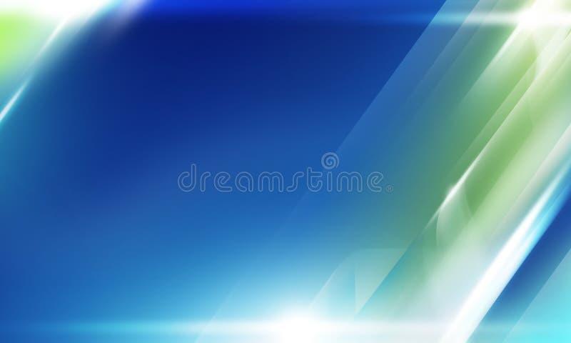 Abstraktes Hintergrundblau lizenzfreie abbildung