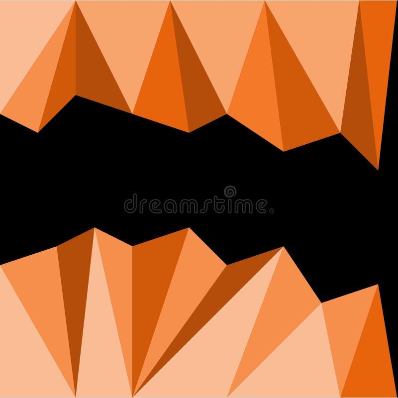Abstraktes Hintergrunddreieck stockbild