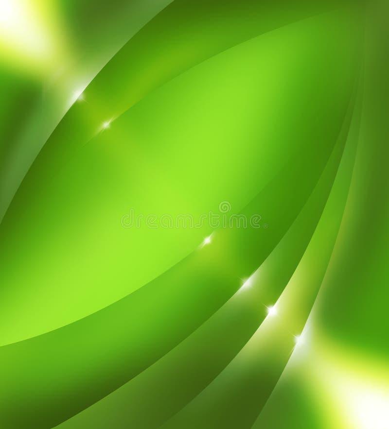 Abstraktes Hintergrundgrün lizenzfreie abbildung