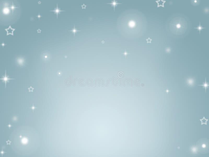 Abstraktes Hintergrundmuster der weißen Sterne auf dunkelroter Auslegung blaues Feiertags-Zusammenfassungs-Funkeln-Defocused Hint lizenzfreie stockbilder