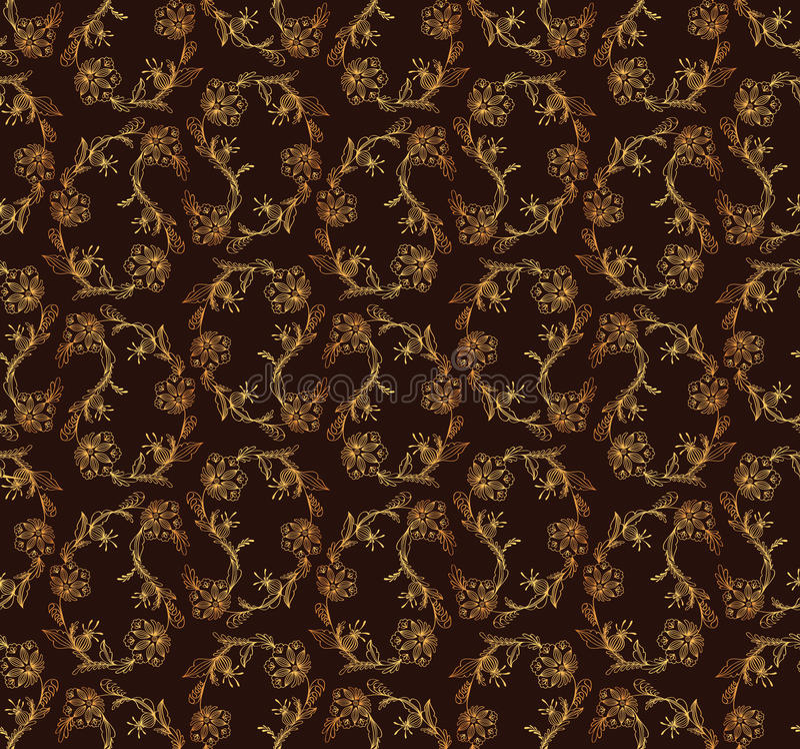 Abstraktes indisches Muster vektor abbildung