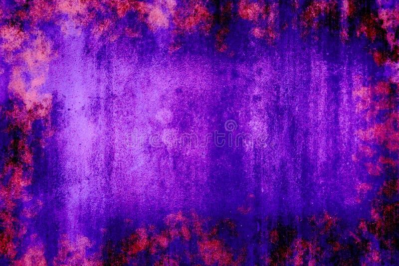 Abstraktes konkretes Blau verdunkelt Wandbeschaffenheits-Schmutzhintergrund stockfotos