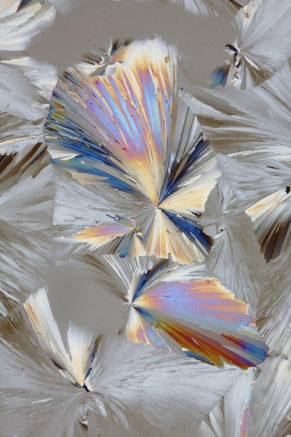 Abstraktes Kristallmuster stockfotografie