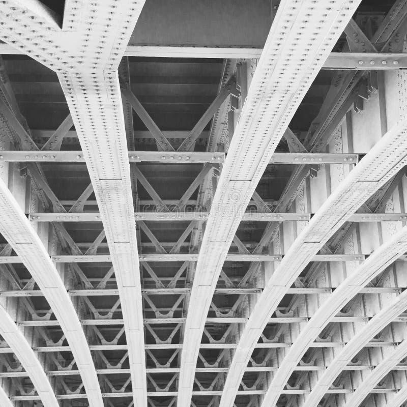 abstraktes Metall im nglan London Geländerstahl und -hintergrund e stockbilder