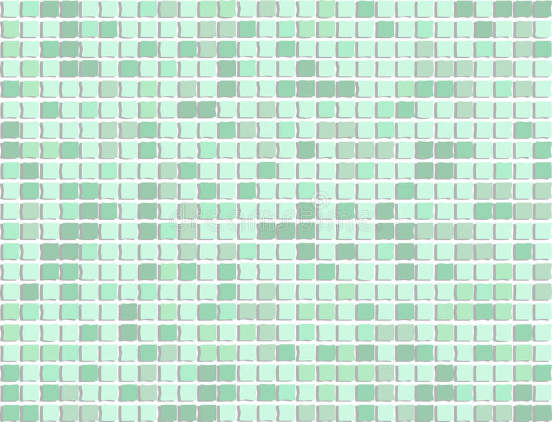 Abstraktes Mosaik vektor abbildung