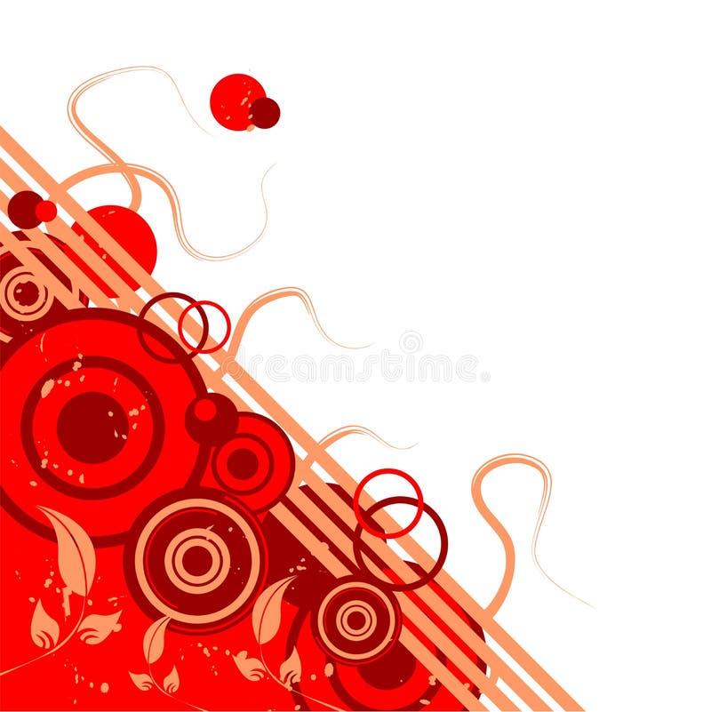 Abstraktes Muster stock abbildung