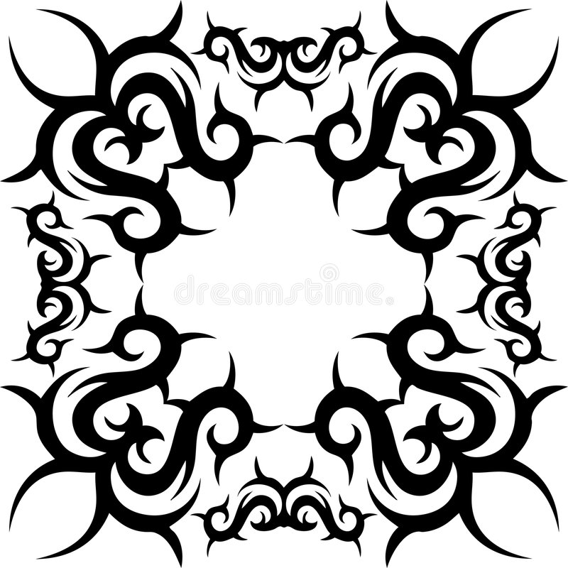 Abstraktes Muster vektor abbildung