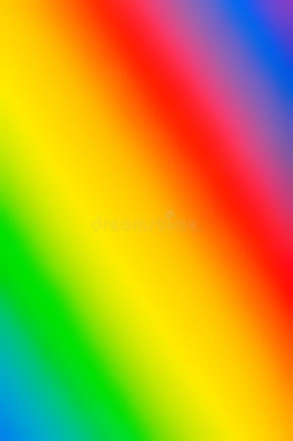 Abstraktes Muster des Regenbogens lizenzfreie abbildung