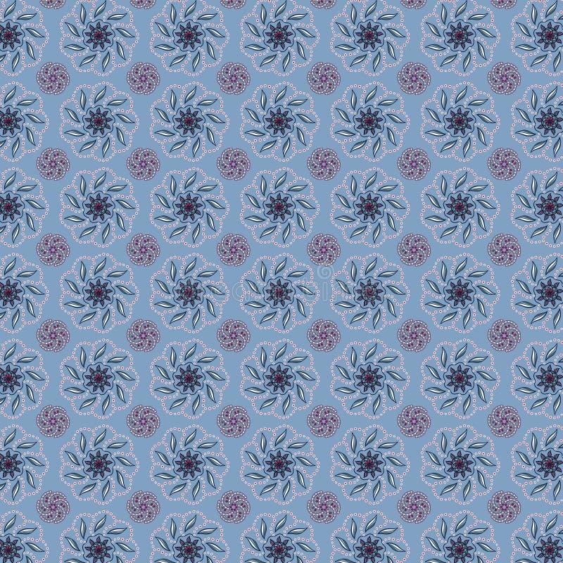 Abstraktes Muster mit Kreisverzierungen stockfotografie