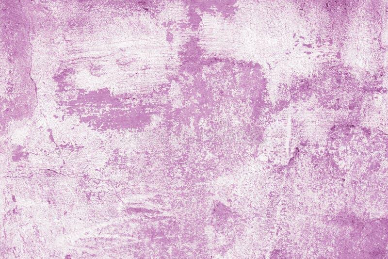 Abstraktes Muster, rosa Hintergrund Purpurrote Farbenflecke auf weißem Segeltuch kreative Illustration des Aquarells Grafik, hell stock abbildung